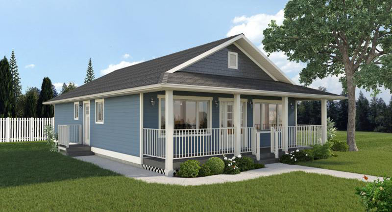 Featured Plan - Economical Rancher - House Plan