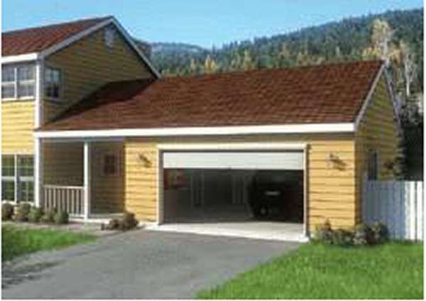 2-Car Garage With Mudroom/Breezeway