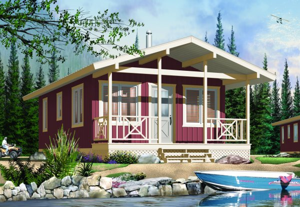 Classic cottage house plan hunters for Classic cottage house plans