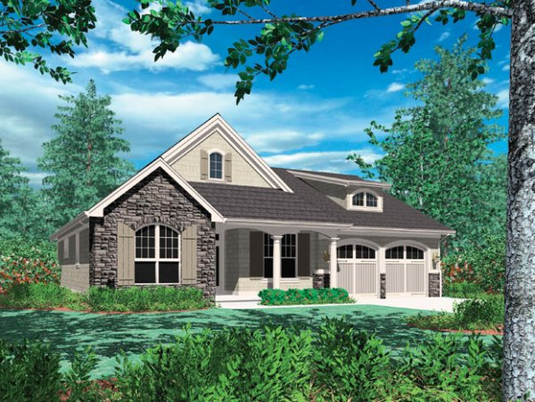Modern Craftsman House Plan Hunters