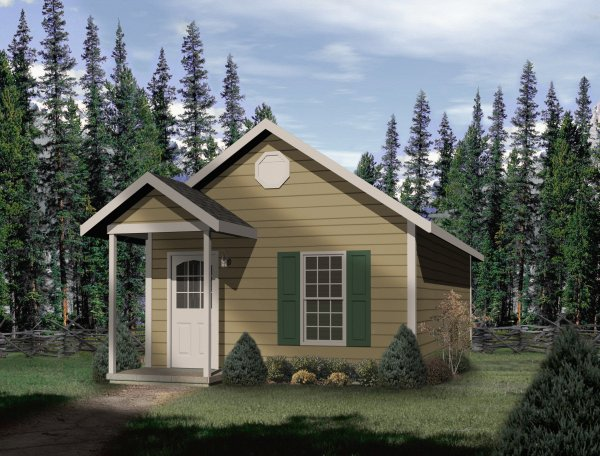 Plan No.415189 - Compact Cottage - House Plan