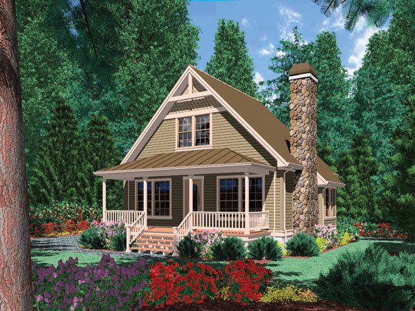 Plan No.322115 - Country Style - House Plan