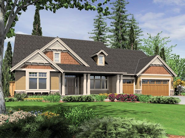 Empty nester house plan hunters for Empty nester home plans designs