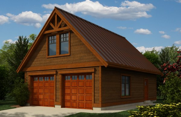 Tiny Home Designs: Rustic Garage And Workshop