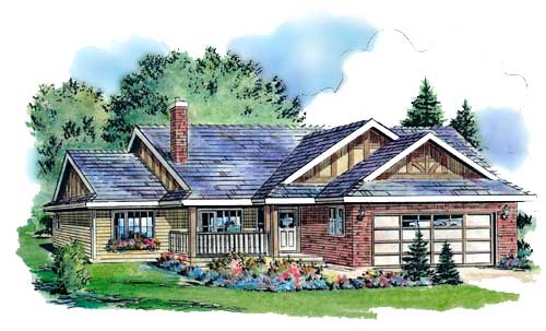 Multiple Roof Lines House Plan Hunters