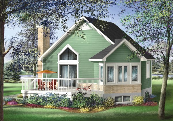Plan No.171211 - Lovely Cottage - House Plan