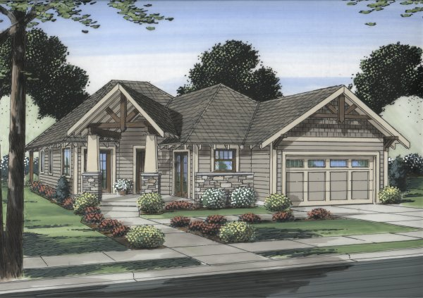 Well suited for a corner lot house plan hunters Corner lot home designs