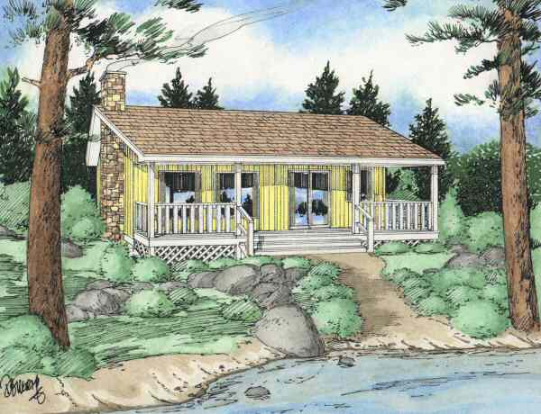 Superieur Plan No.200245   Economical Cottage Design   House Plan